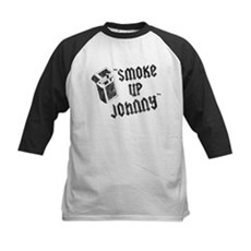 Smoke Up Johnny Kids Baseball Jersey
