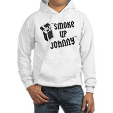 Smoke Up Johnny Hooded Sweatshirt