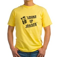 Smoke Up Johnny Yellow T-Shirt