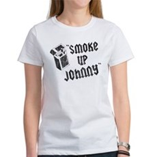 Smoke Up Johnny Womens T-Shirt