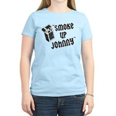 Smoke Up Johnny Womens Light T-Shirt