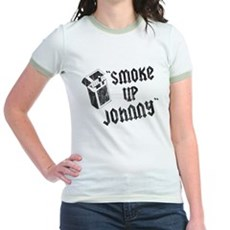 Smoke Up Johnny Jr Ringer T-Shirt