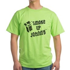 Smoke Up Johnny Green T-Shirt