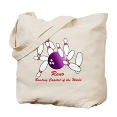 Reno Bowling Capital of the World Tote Bag