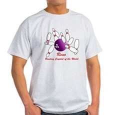 Reno Bowling Capital of the World Light T-Shirt