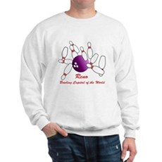 Reno Bowling Capital of the World Sweatshirt