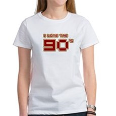 I Love the 90's Womens T-Shirt