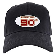 I Love the 90's Black Cap