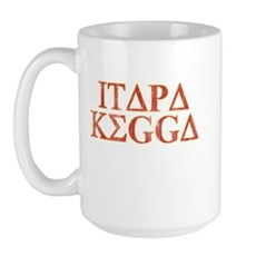 ITAPA KEGGA (Greek) Large Mug