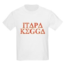 ITAPA KEGGA (Greek) Kids Light T-Shirt