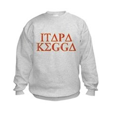 ITAPA KEGGA (Greek) Kids Sweatshirt