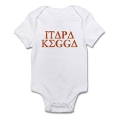 ITAPA KEGGA (Greek) Infant Bodysuit