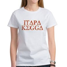 ITAPA KEGGA (Greek) Womens T-Shirt