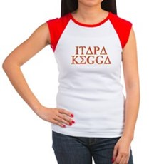 ITAPA KEGGA (Greek) Womens Cap Sleeve T-Shirt