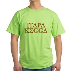 ITAPA KEGGA (Greek) Green T-Shirt