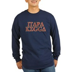 ITAPA KEGGA (Greek) Long Sleeve T-Shirt