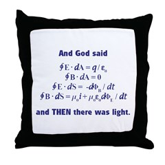 And God Said Throw Pillow