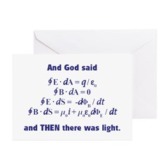 And God Said Greeting Cards (Pk of 10)
