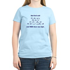 And God Said Women's Light T-Shirt
