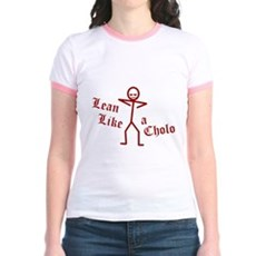 Lean Like a Cholo Jr Ringer T-Shirt