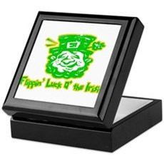 Flippin' Luck O' the Irish Keepsake Box