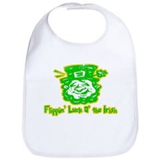 Flippin' Luck O' the Irish Bib