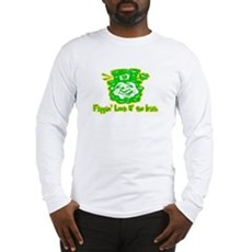 Flippin' Luck O' the Irish Long Sleeve T-Shirt