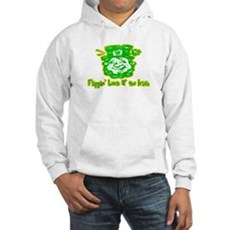 Flippin' Luck O' the Irish Hooded Sweatshirt