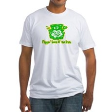 Flippin' Luck O' the Irish Fitted T-Shirt