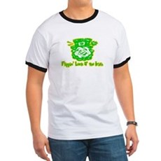 Flippin' Luck O' the Irish Ringer T