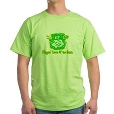Flippin' Luck O' the Irish Green T-Shirt
