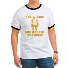 Fat Kids are Harder to Kidnap Ringer T