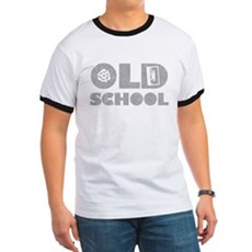 Old School (Distressed) Ringer T