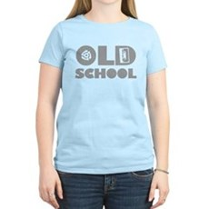 Old School (Distressed) Womens Light T-Shirt