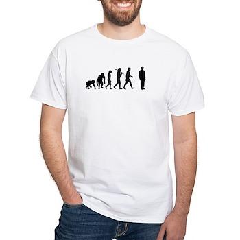 Officers Gift White T-Shirt