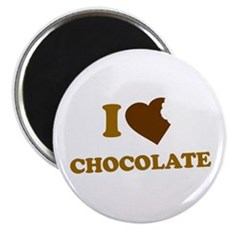 I Love [Heart] Chocolate Magnet