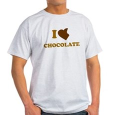 I Love [Heart] Chocolate Light T-Shirt