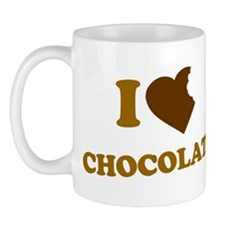 I Love [Heart] Chocolate Mug