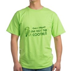 I've Got the Cooties Green T-Shirt