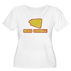SNL More Cowbell Womens Plus Size Scoop Neck T-Sh