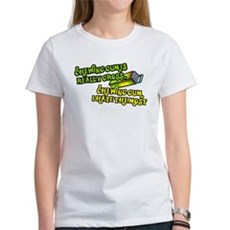 Chewing gum is really gross Womens T-Shirt
