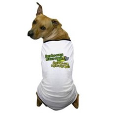 Chewing gum is really gross Dog T-Shirt