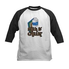 Milk is Chillin' Kids Baseball Jersey