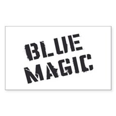 Blue Magic Rectangle Sticker