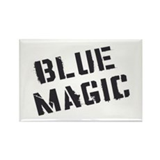 Blue Magic Rectangle Magnet