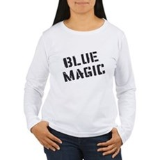 Blue Magic Womens Long Sleeve T-Shirt
