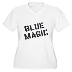 Blue Magic Plus Size V-Neck Shirt