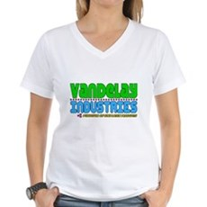 Vandelay Industries Womens V-Neck T-Shirt