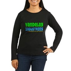 Vandelay Industries Womens Long Sleeve Dark T-Shi