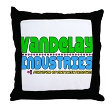Vandelay Industries Throw Pillow